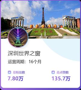 深圳世界之窗代运营案例